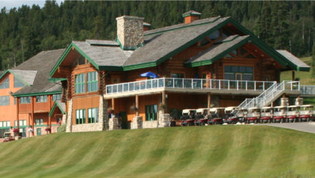 The Clubhouse & Lounge at Wintergreen Golf & Country Club in Bragg Creek, AB, Canada