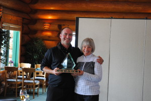2013 Senior Ladies' Club Champ - Kathy Whitburn
