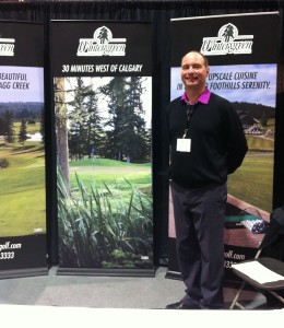 Tom Day at the Golf Show